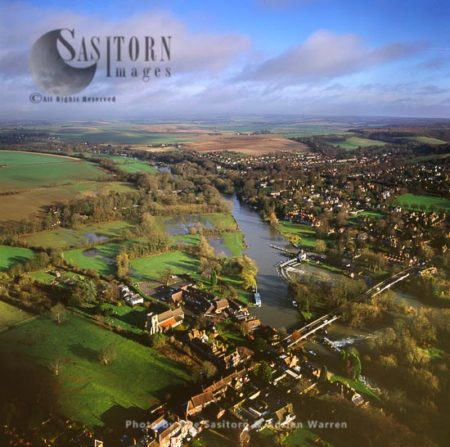 Goring Or Goring-on-Thames And The River Thames, Oxfordshire