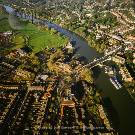 Reading  And The River Thames, Berkshire