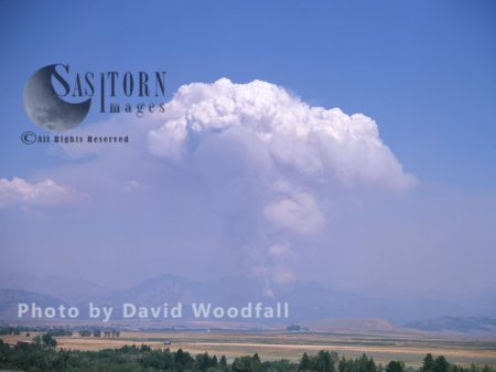 Wildfire In Crazy Mountains