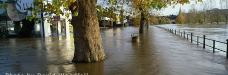 Floods From River Severn