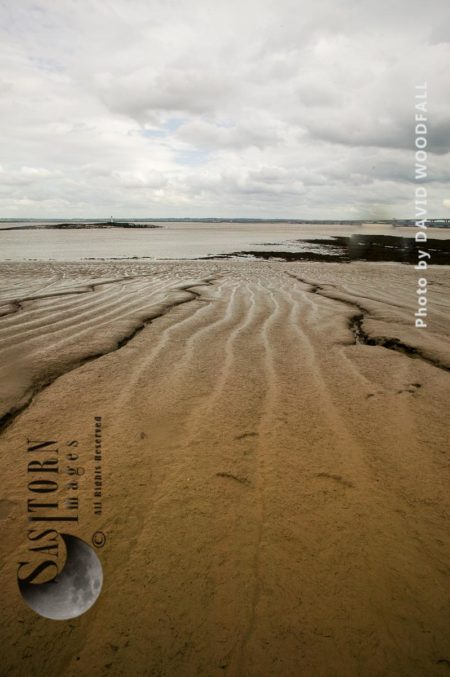 Mudflats On Severn Estuary, England